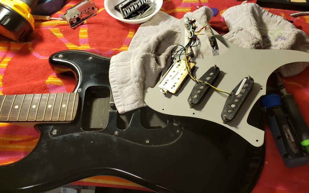 What I Do to Guitars