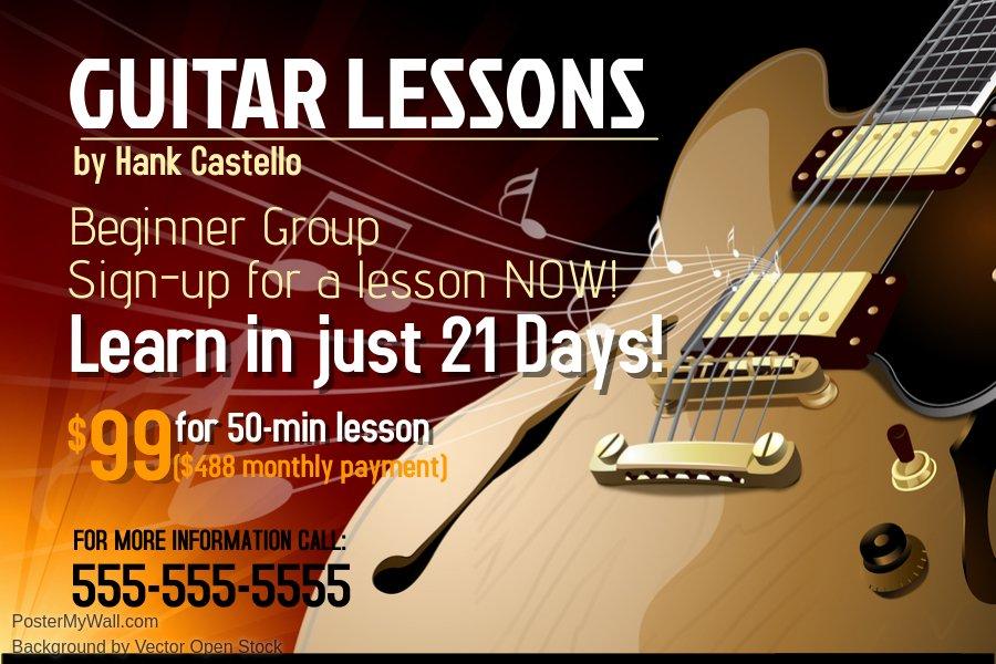 Guitar Lesson – Horror Stories