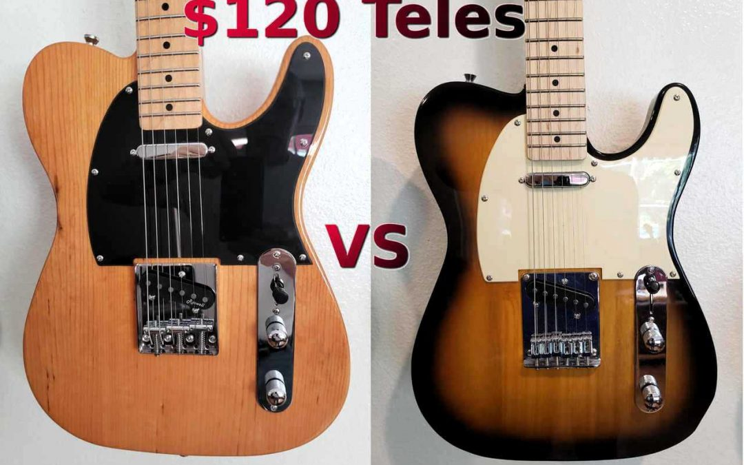 2 Cheap Teles vs Fender