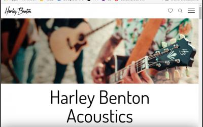 New Harley Benton Website