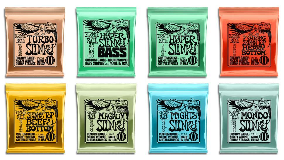 8 new Ernie Ball string sets for 2020