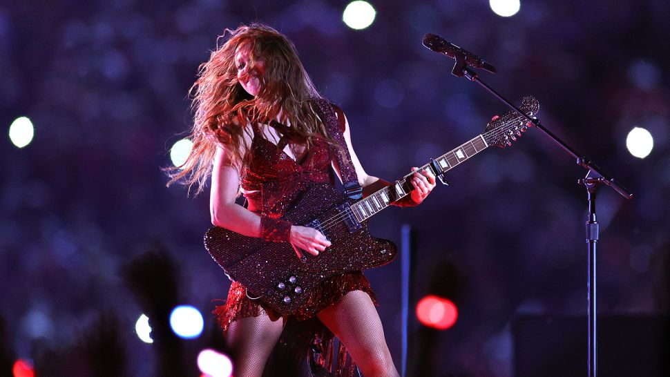 Superbowl Firebird & Shakira's Other Custom Guitars