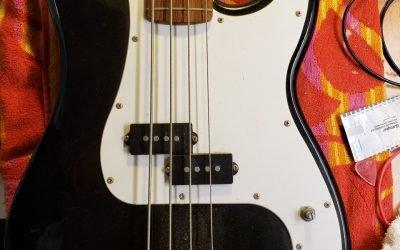 Squier P-Bass – How Cheap Can Fender Get???