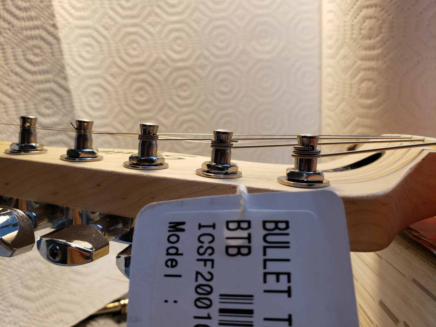 Fixing Squier Telecaster problems