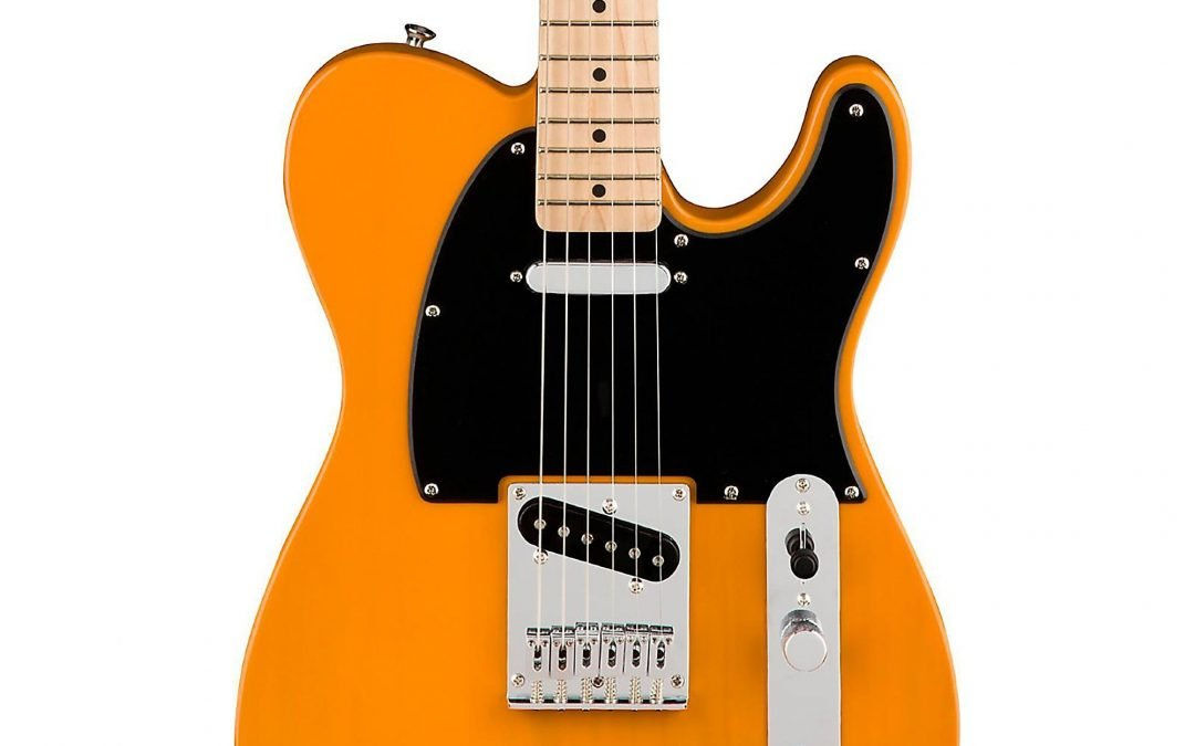 Brand New Squier Telecaster – Not Playable???