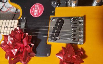 Christmas Gift Guitars