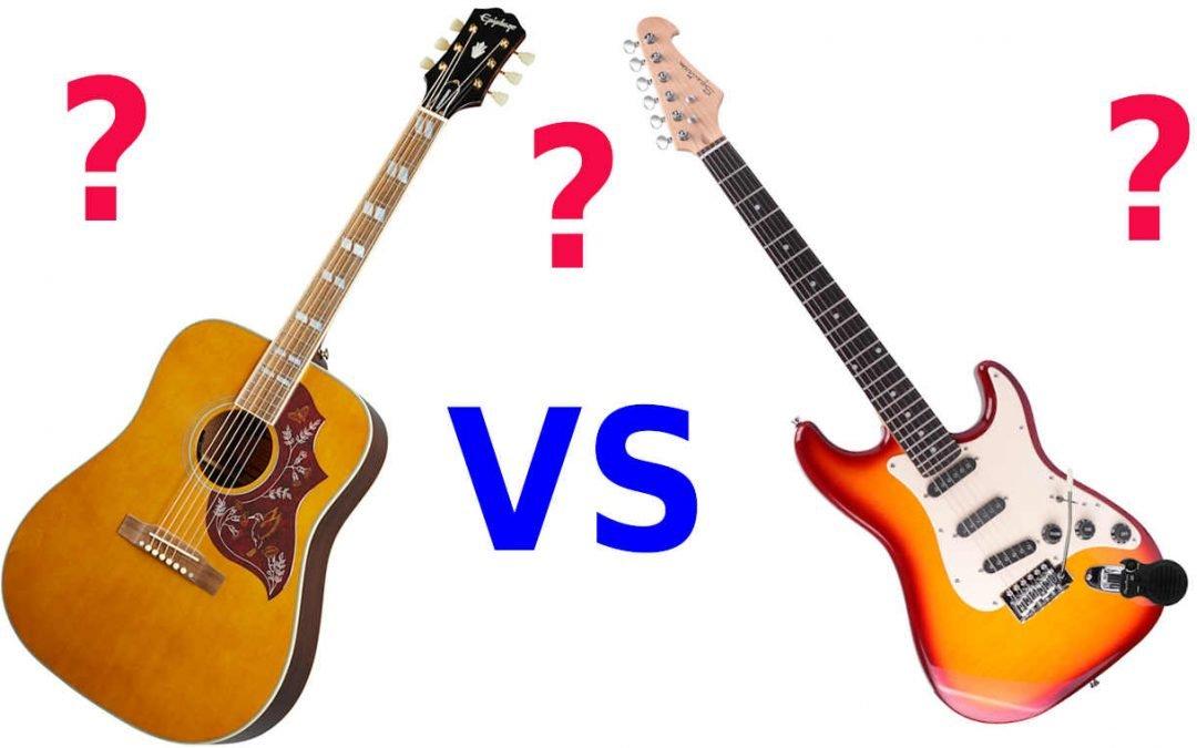 Child's Beginner Guitar – Acoustic vs Electric?