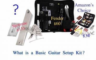 Guitar Setup Toolkits